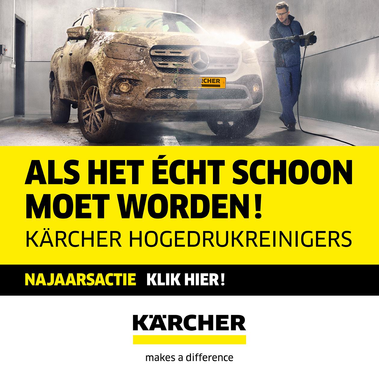 Kärcher najaarsacties 2018