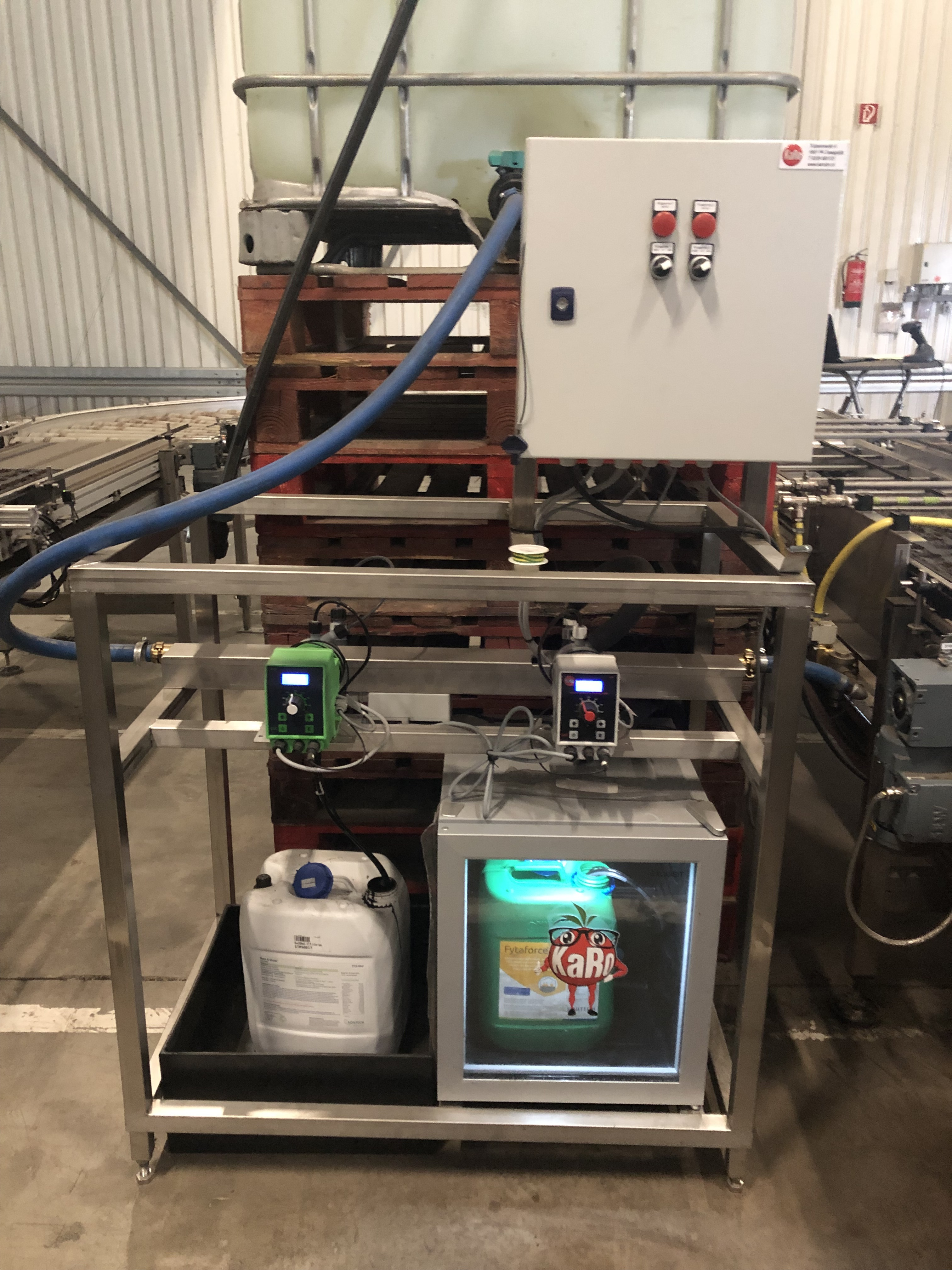 Doseer techniek meststoffen op zaailijn - Bfour Hydrogrow
