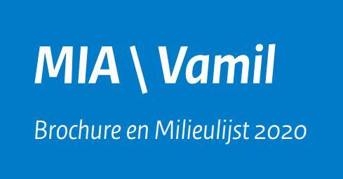 Milieulijst MIA-Vamil 2020